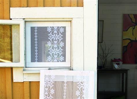 diy window screen diy window treatments weekend projects bob vila