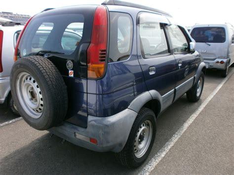 Lu Terios daihatsu terios e j100g japanese used cars lucus japan t limited