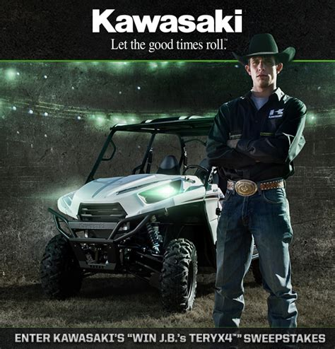 Kawasaki Sweepstakes - kawasaki launches teryx4 sweepstakes for lucky pbr fans in 2013 outdoorhub