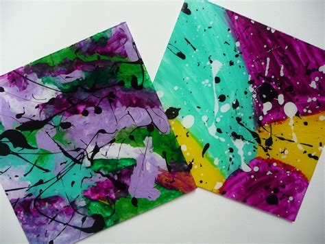 plexiglass craft projects gerhard richter inspired plexiglass painting artclubblog