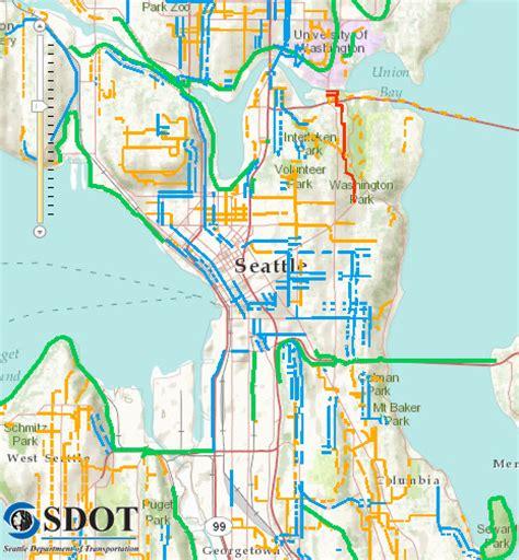 seattle interactive map city launches new interactive bike map bike plan survey