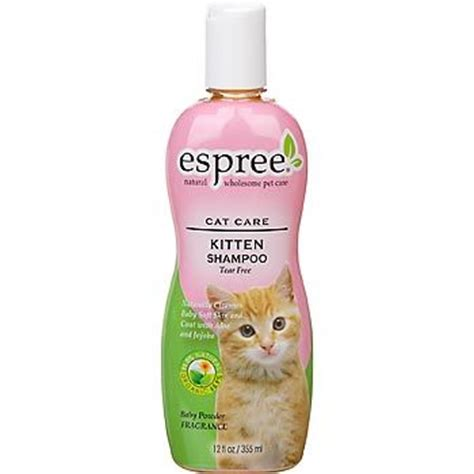 Bedak Kucing Espree Kitten Bath kittens shoos and cat grooming on