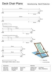 deck chair dimensions woodworking projects plans