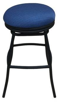 Alfa Bar Stools by Aluminum 34 Inch Outdoor Bonnie Swivel Backless Stool