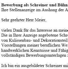 Bewerbung Deckblatt Schreiner Vertrag Vorlage Digitaldrucke De Bewerbung Schreiner In Und B 252 Hnentischler In