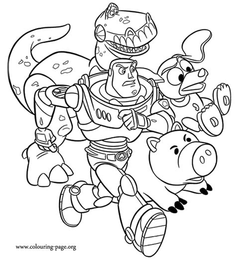 buzz lightyear coloring pages for kids az coloring pages