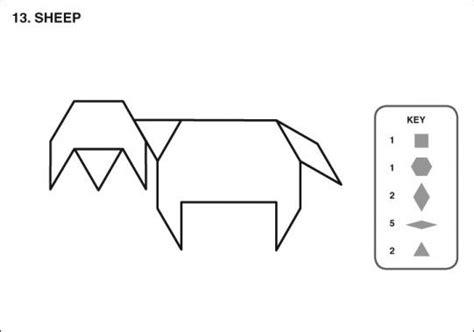 pattern block templates pinterest sheep tangram pattern blocks pinterest pattern