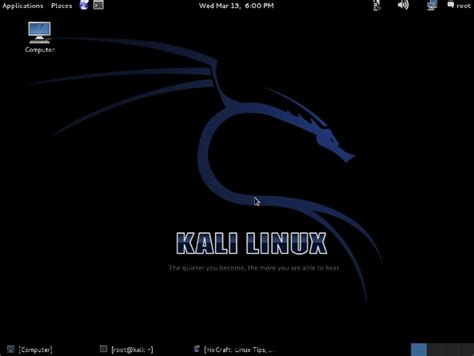 kali linux latest tutorial download of the day kali linux backtrack linux nixcraft