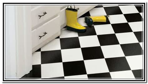black and white linoleum flooring roll home design ideas