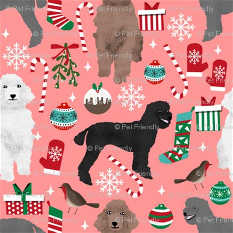Pet Friendly Fabric by Poodles Fabric Poodle Design Poodle Fabric
