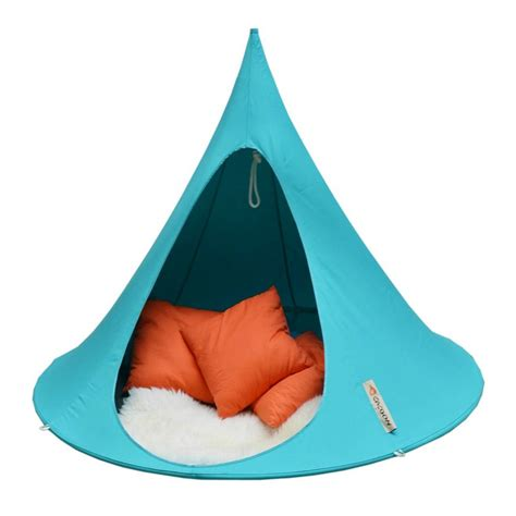 Home Design Store Copenhagen cacoon hammock double 2 person tent turquoise blue