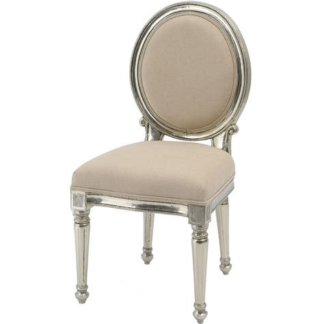 dining chair silver furniture swanky interiors