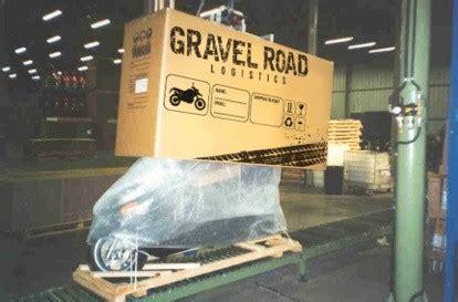 Motorrad Transportkiste by Motorradverpackung Gravel Road Logistics We Ship You