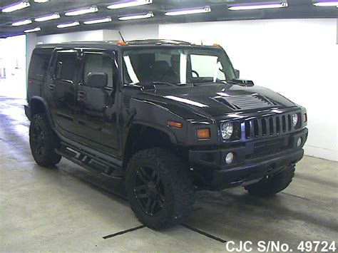 automobile air conditioning service 2006 hummer h2 windshield wipe control 2006 hummer h2 black for sale stock no 49724 japanese used cars exporter