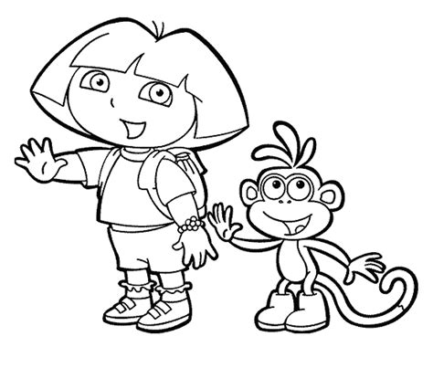 dora coloring pages nick jr with dora coloring pages on with hd resolution 1245x1061