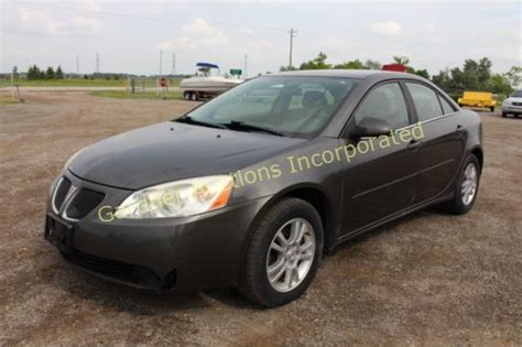 06 Pontiac G6 Recalls by 06 20 15 Only Vehicle Auction In Ontario By
