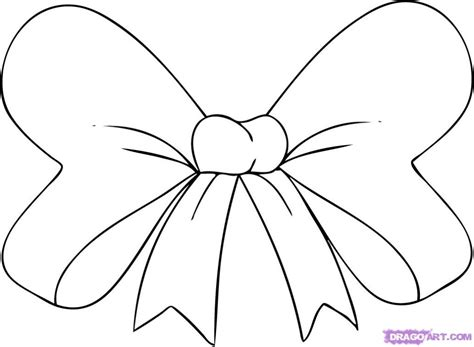 best photos of cute bow tie drawing christmas bows