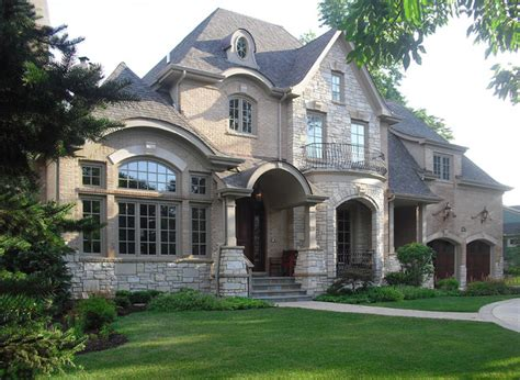 home exterior design brick and stone clarendon hills traditional exterior chicago by