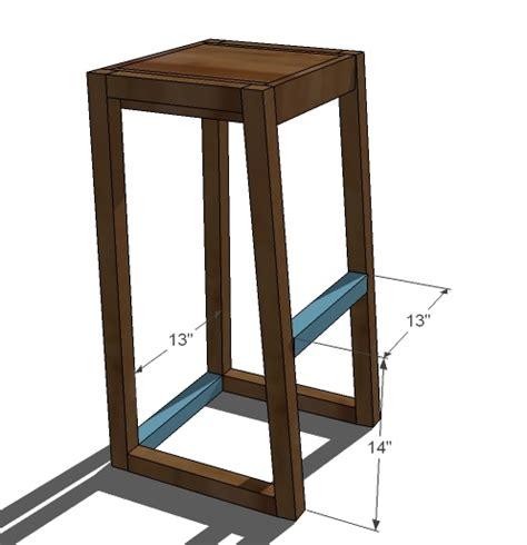 diy wood design share adjustable shop stool woodworking plan