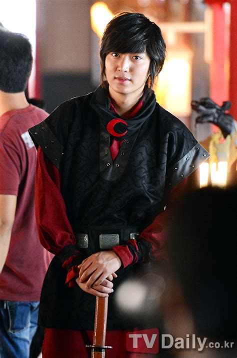 film lee min ho faith actor lee min ho completes filming for faith allkpop com