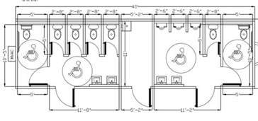 ada bathroom floor plans ada bathroom design commercial ada bathroom layout car