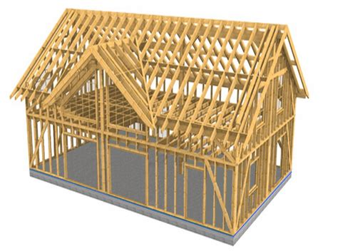 house frame architecture ing 233 nierie production construction de maisons