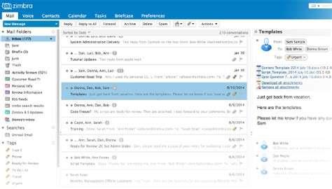 Zimbra Email Search Open Source Email Platform Zimbra Collaboration Open Source Edition