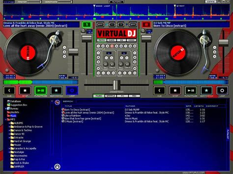 Virtual Home screenshot de virtual dj home edition 2007 3 de 3
