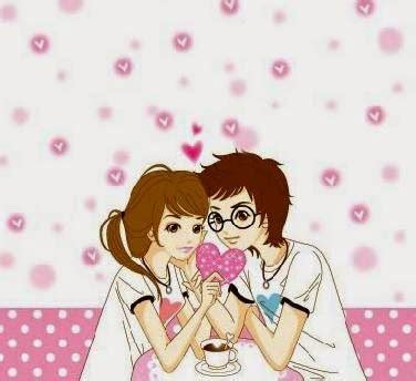 gambar kartun cantik  cute banget animasi korea meme