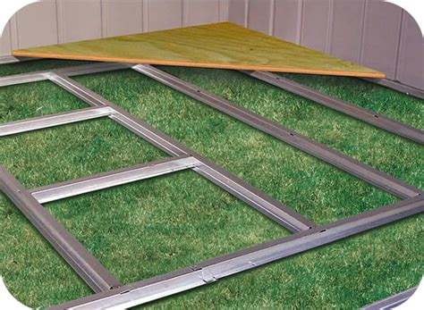 10 x12 shed floor kits arrow storage sheds floor kit 10x12 or 10x14 fb1014