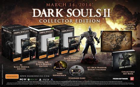 Souls 1 2 Limited Edtion Artbook souls 2 gets concrete release dates collector s edition pre order bonus