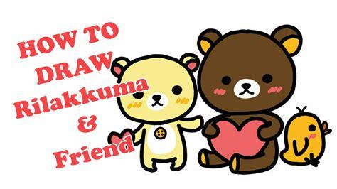 Color Rilakkuma how to draw and color rilakkuma