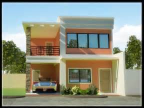 2 Story House Designs two storey house designs and floor affordable two story house