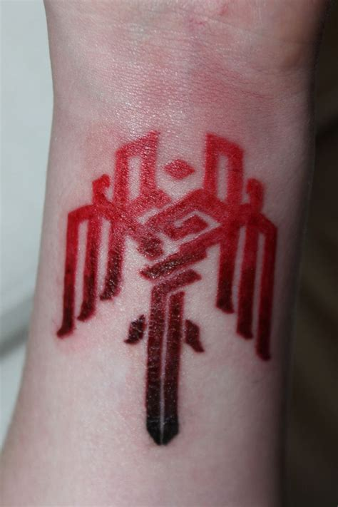 age for tattoos age symbol bioware tattoos