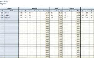 Printable Grade Sheet Template by Gradebook New Calendar Template Site
