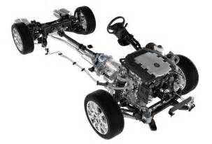 Cadillac Cts Chassis 2009 Cadillac Cts Drivetrain Picture Pic Image