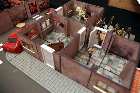 Corner Dining Table Corner zombicide 3d action sally 4th