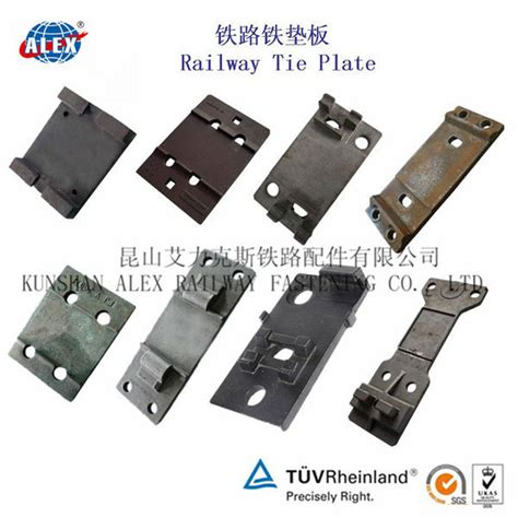 qt450 10 kpo type railway tie plate rail base plate