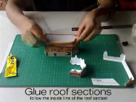 How To Make A Temple Out Of Paper - golden temple papercraft tutorial