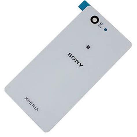 Backdoor Sony Xperia Z3 Mini Z3 Compact Back Cover Tutup Belakang Sony Xperia Z3 Mini Compact D5803 D5833 White Battery Door