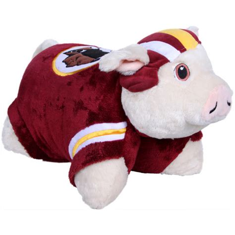 Redskins Pillow Pet washington redskins pillow pets redskins hog pillow pet