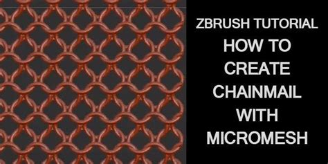 zbrush chainmail tutorial 1000 images about tutorials and resources on pinterest