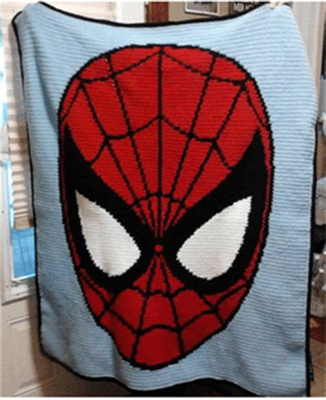 knitting pattern for spiderman blanket finished afghans from my graphs