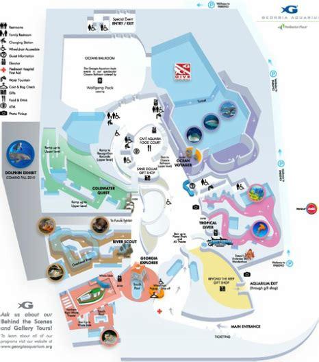 georgia aquarium floor plan georgia aquarium floor plan best free home design
