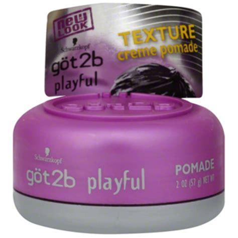 Pomade Got2b got2b playful texturizing creme pomade