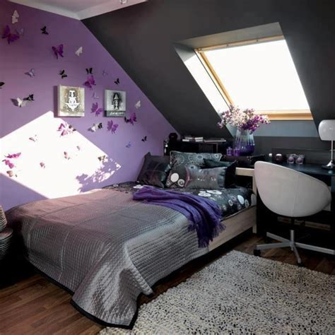 purple and silver bedroom purple grey butterfly bedroom abi s room pinterest