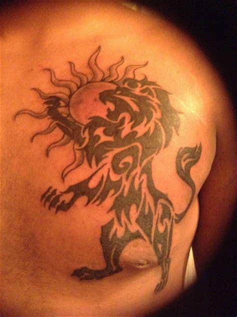 tribal tattoo leo 15 magnificent leo tribal tattoos only tribal