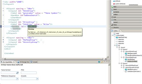 zk layout overflow html making vertically aligned controsl to all have the