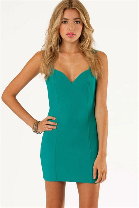 teal sweetheart sexy party dress  sexy club dressesclub