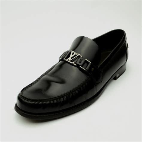 buy louis vuitton brown leather major loafers size 44 34814 at best price tlc